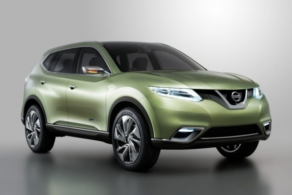 Компания Nissan представила концепт Hi-Cross в Лос-Анджелесе.